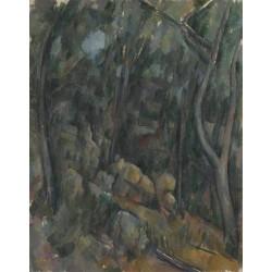 Paul Cézanne - The Grounds of the Château Noir