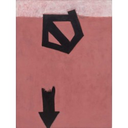Adolph Gottlieb - Descending Arrow