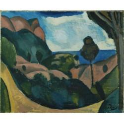André Derain - Landscape near Cassis