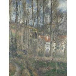 Camille Pissarro - The Côte des Bœufs at L'Hermitage