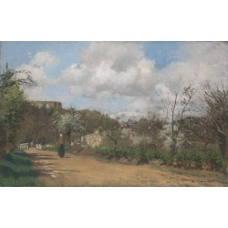Camille Pissarro - View from Louveciennes