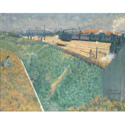 Charles Angrand - The Western Railway at its Exit from Paris