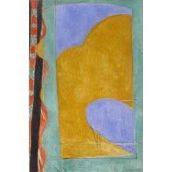 Henri Matisse - The Yellow Curtain
