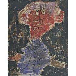 Jean Dubuffet - Léautaud, Redskin-Sorcerer