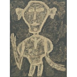 Jean Dubuffet - Portrait of Henri Michaux