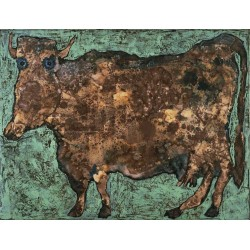 Jean Dubuffet - The Cow with the Subtile Nose