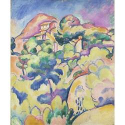 Georges Braque - Landscape at La Ciotat