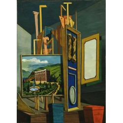 Giorgio de Chirico - Great Metaphysical Interior