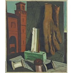 Giorgio de Chirico - The Amusements of a Young Girl