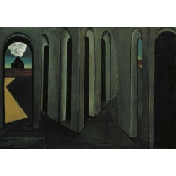 Giorgio de Chirico - The Anxious Journey