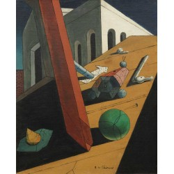 Giorgio de Chirico - The Evil Genius of a King