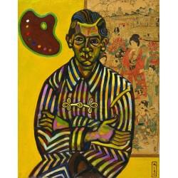 Joan Miró - Portrait of Enric Cristòfol Ricart