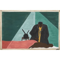Jacob Lawrence - Among one of the last groups to leave the South