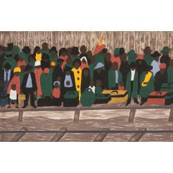Jacob Lawrence - And the migrants kept coming