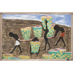 Jacob Lawrence - Child labor and a lack of education was one of the other reasons for people wishing to leave their homes