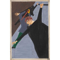 Jacob Lawrence - Race riots were very numerous all over the North