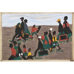 Jacob Lawrence - The migrants arrived in great numbers