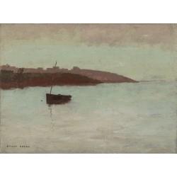 Odilon Redon - Fishing Boat
