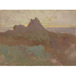 Odilon Redon - Rocky Peak